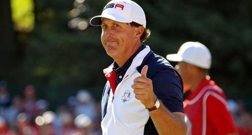 Mickelson's Brand Worth More Than Woods', McIlroy's