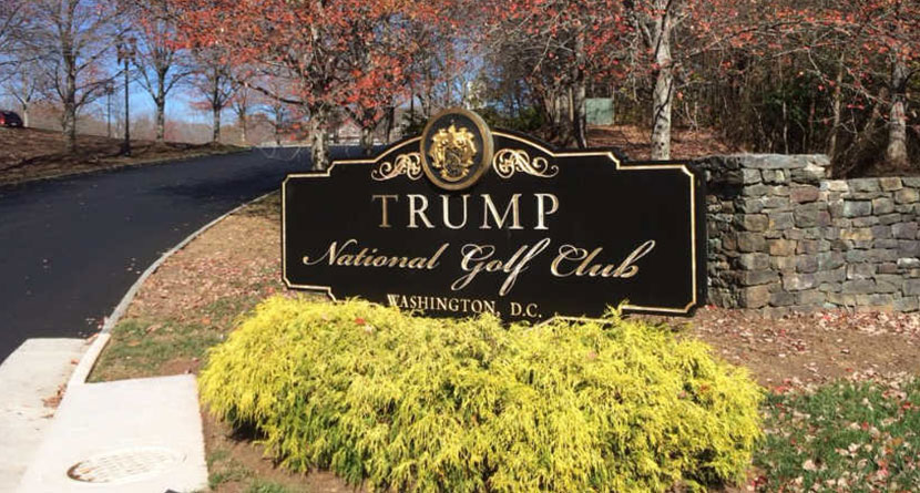 Trump National GC Vandalized On Eve Of Election