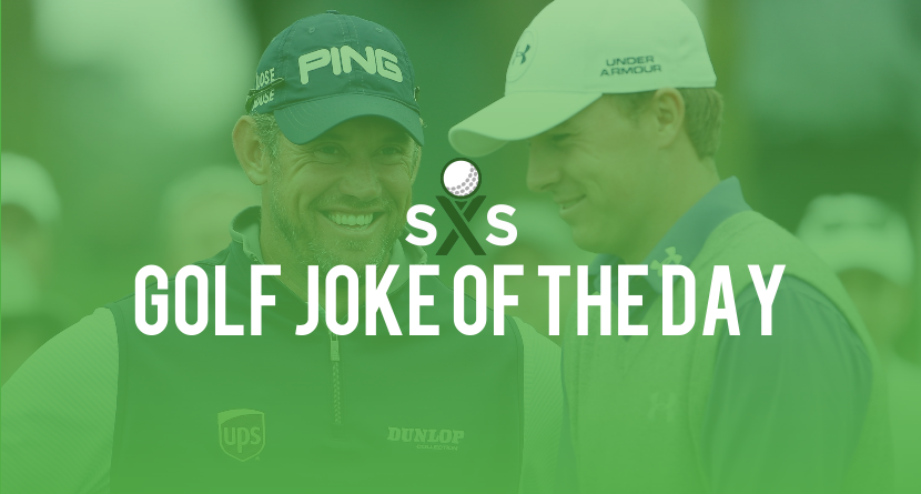 Golf Joke Of The Day: Saturday, December 31st
