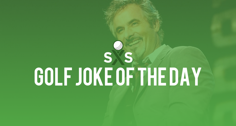 Golf Joke Of The Day: Wednesday, February 8th