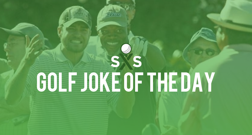 Golf Joke Of The Day: Tuesday, November 7th