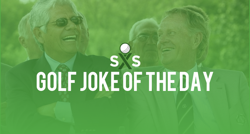 Golf Joke Of The Day: Wednesday, January 25th