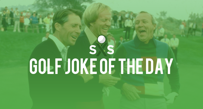 Golf Joke Of The Day: Tuesday, January 10th