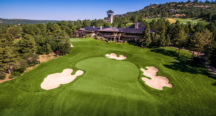 Flyover Friday: Castle Pines Golf Club