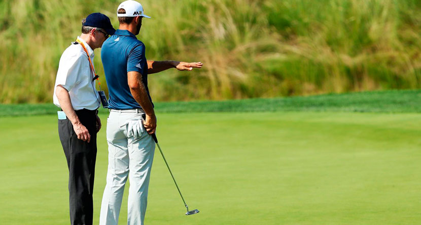 USGA Is Changing The Dustin Johnson Rule In 2017