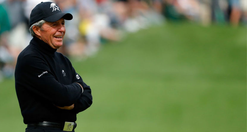 Gary Player Was On Fire On Social Media Yesterday