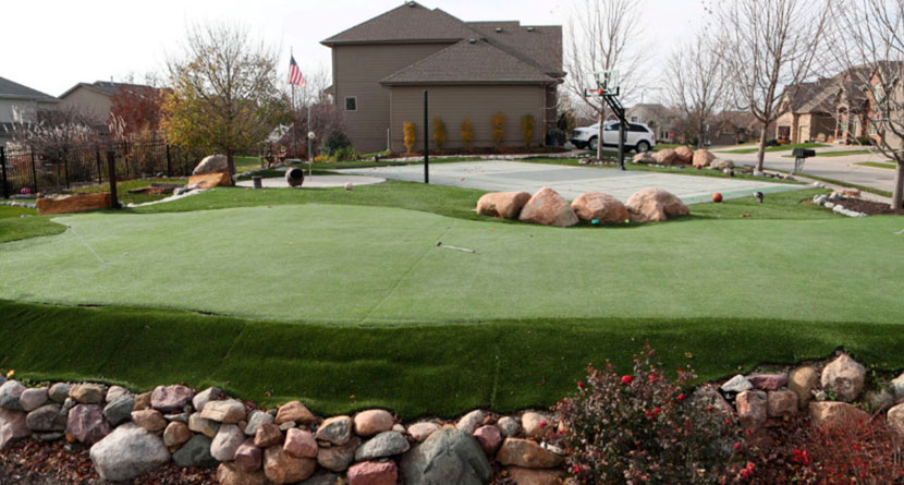 Man Fighting HOA Over Backyard Putting Green