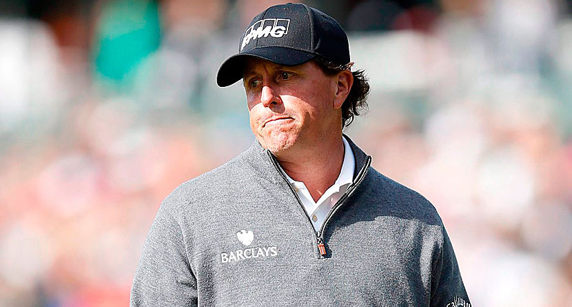 Phil Mickelson Underwent 2nd Sports Hernia Surgery