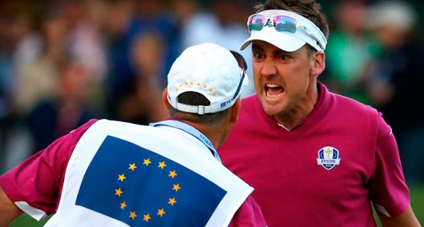 Poulter Makes An Eight, Lashes Out At Cameraman