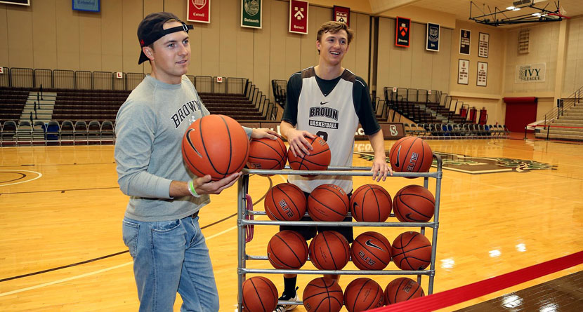Jordan Spieth, Brother Compete Prior To Career Game