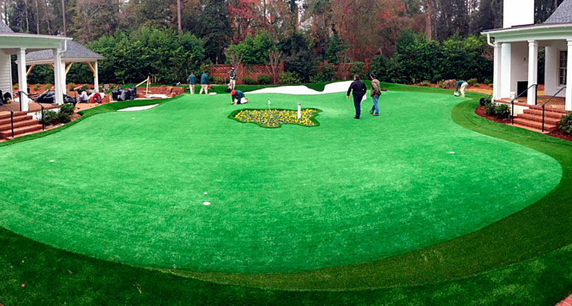 Guru's Masters-Themed Backyard Is Amazing