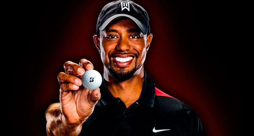 Tiger Signs Endorsement Deal With Bridgestone