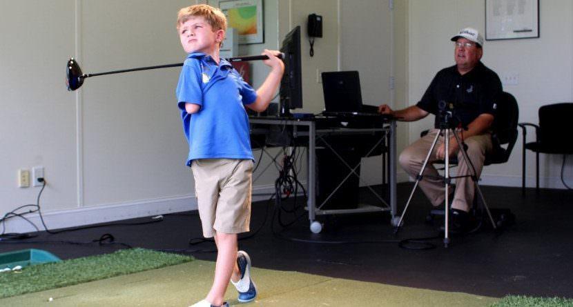 10 Amazing Kid Golf Swings