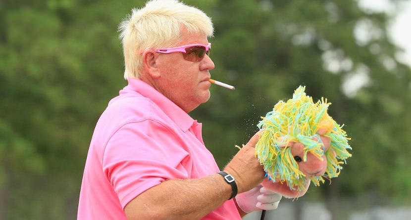 John Daly Smashes A Drive Off CEO's Face