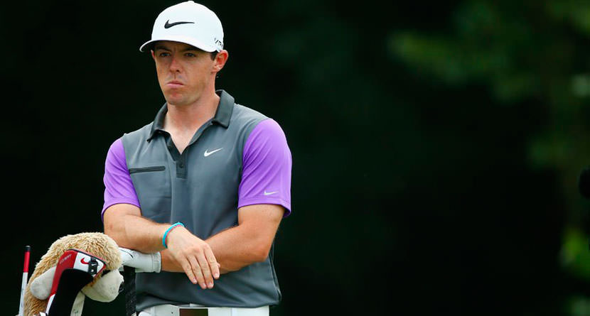 Rory Was Annoyed By Phil And Rickie At 2014 PGA