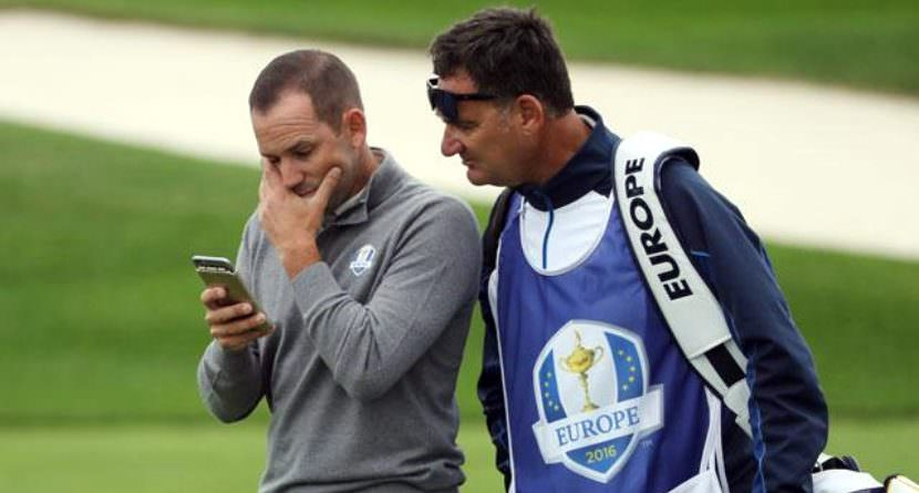 Sergio Will Let Twitter Fan Caddie For Him