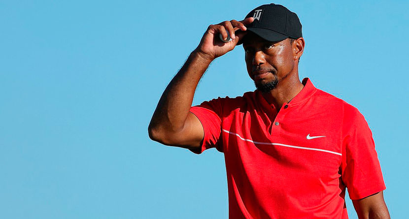 Tiger Announces Hectic Schedule To Start 2017
