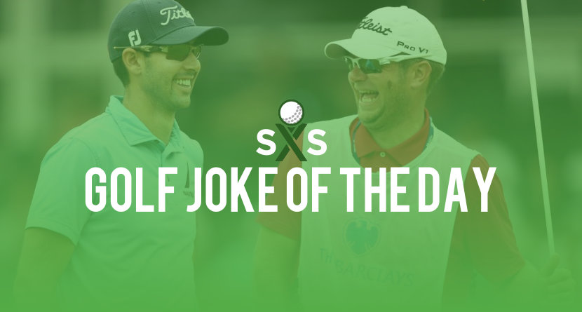 Golf Joke Of The Day: Monday, October 16th