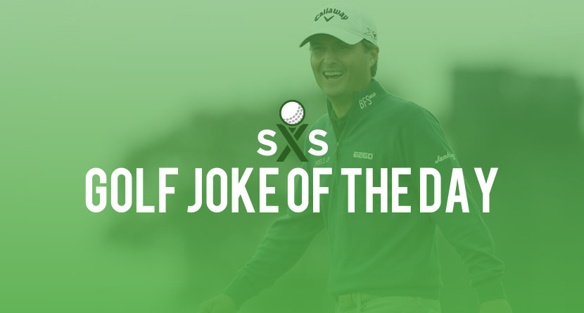 Golf Joke Of The Day: Wednesday, June 7th