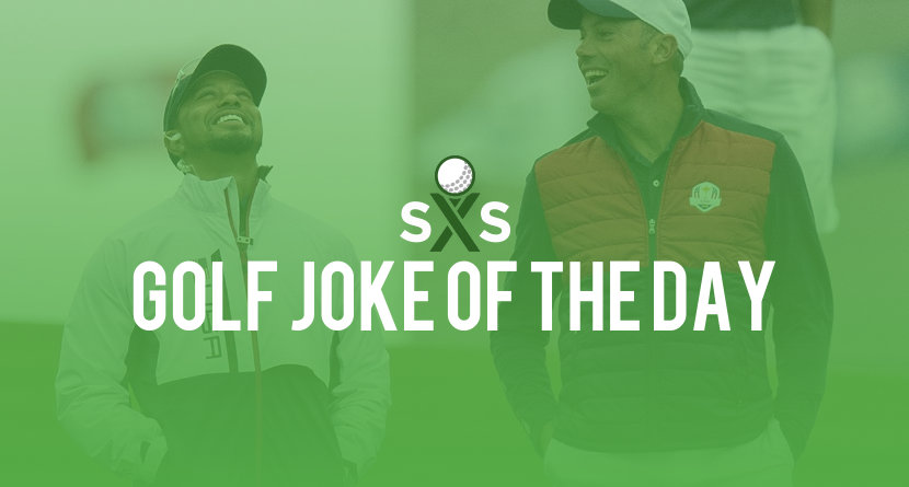 Golf Joke Of The Day: Wednesday, May 3rd