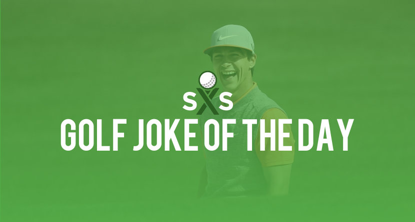 Golf Joke Of The Day: Saturday, December 16th