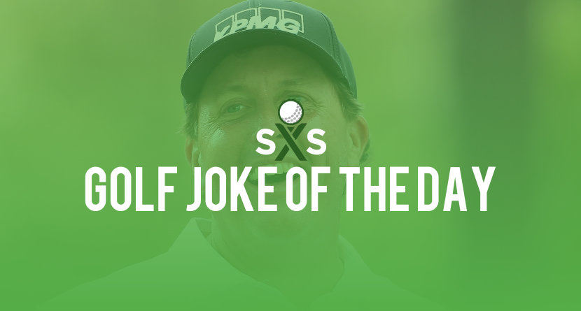 Golf Joke Of The Day: Friday, September 8th