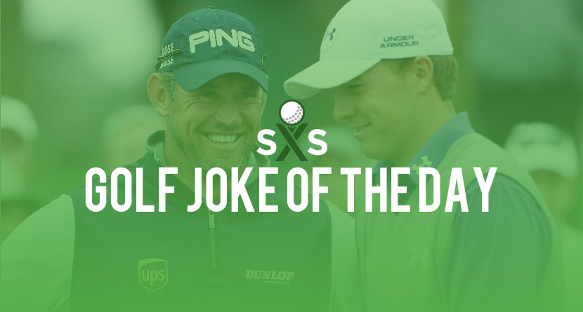 Golf Joke Of The Day: Saturday, September 9th
