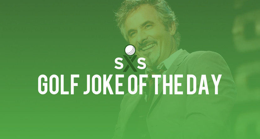Golf Joke Of The Day: Tuesday, January 2nd