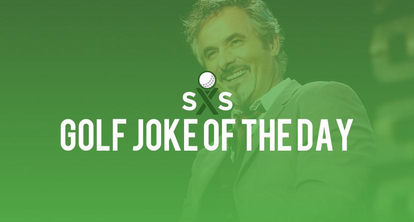 Golf Joke Of The Day: Friday, December 8th