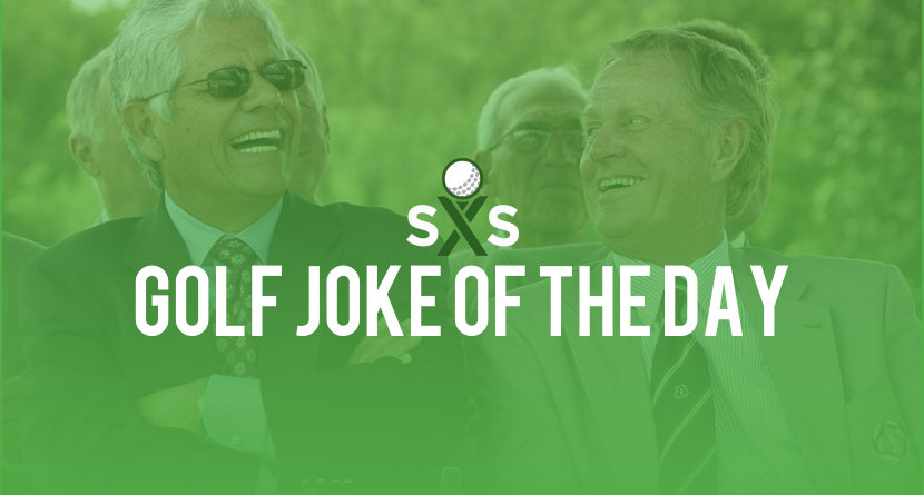 Golf Joke Of The Day: Tuesday, October 3rd