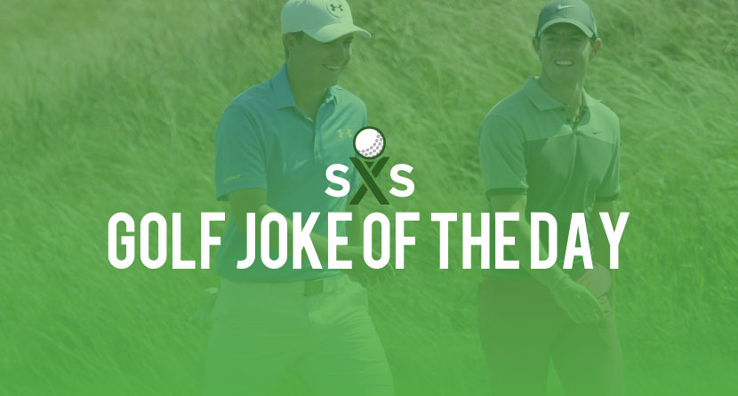 Golf Joke Of The Day: Tuesday, December 26th