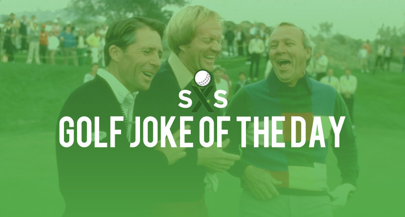 Golf Joke Of The Day: Wednesday, April 26th
