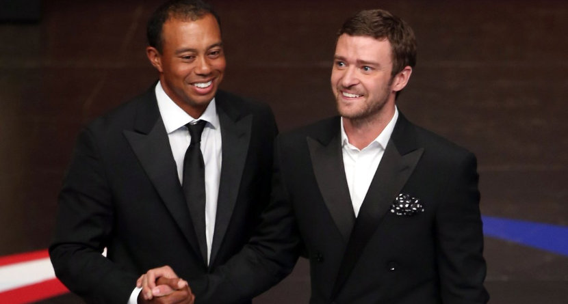 Tiger and Timberlake Buy A Stake In Junior Tour