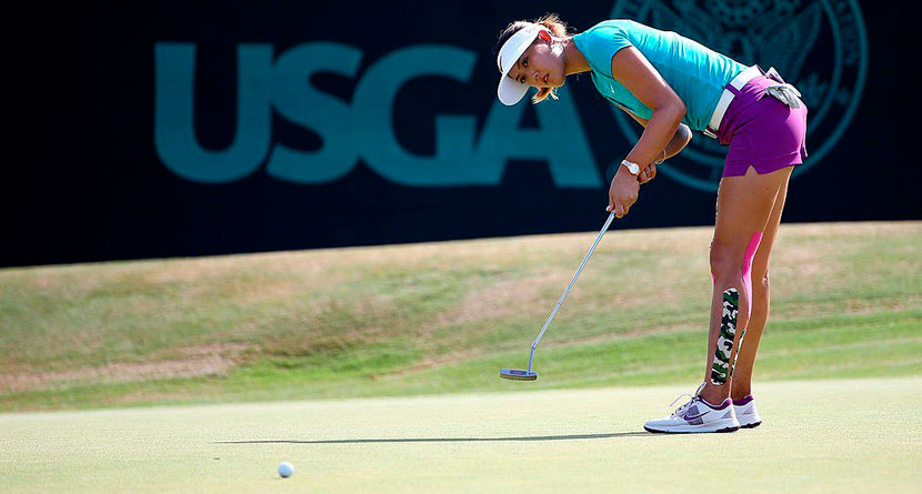 Wie Googled Her Way To A New Putting Grip