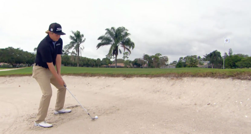 Stick Your Bunker Shots Close to the Pin