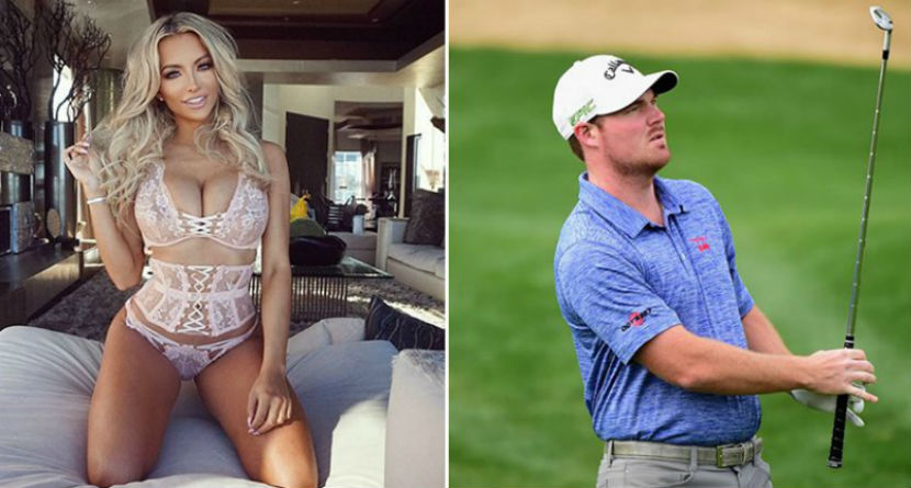 Tour Rookie Asks Playmate to Caddie at Augusta