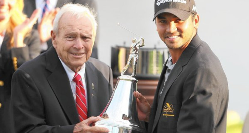 "Arnold Palmer Once Got Jason Day ""Hammered"""