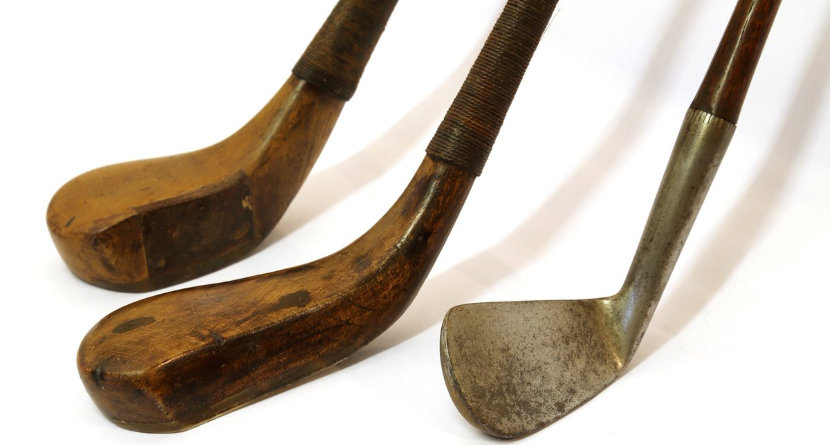 Antique Golf Clubs Expected To Sell For 1m Swingu Clubhouse