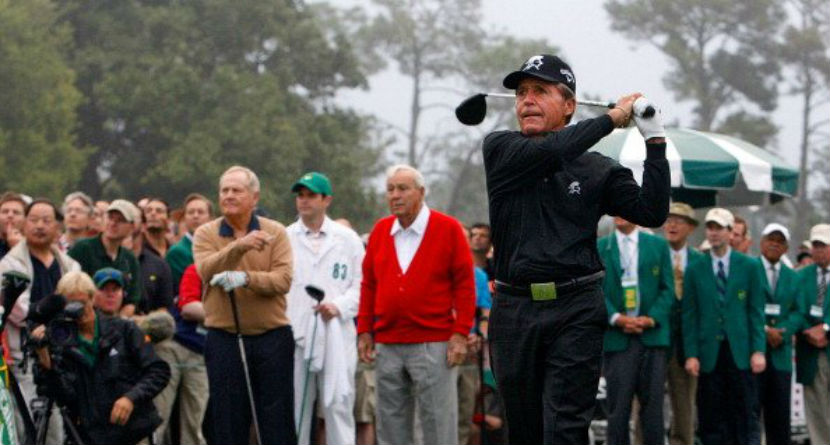 Gary Player Calls Out Jack Nicklaus