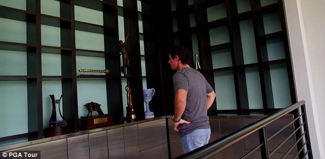 Rory Mcilroy Trophy Room Pga Tour