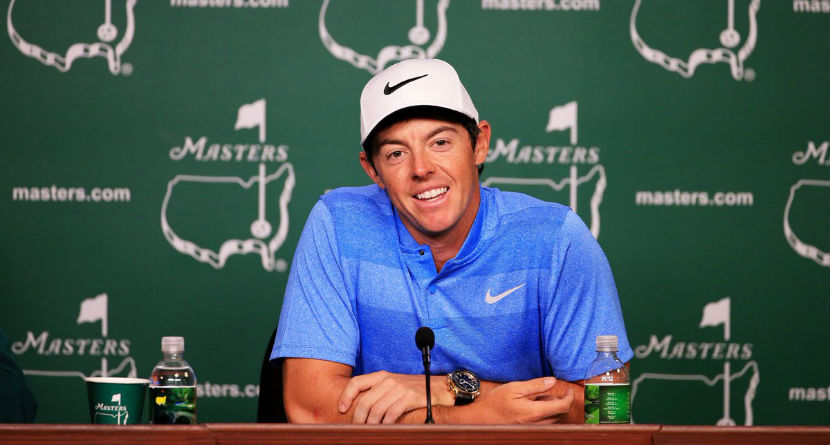 Rory Feeling the Pressure to Win at Augusta
