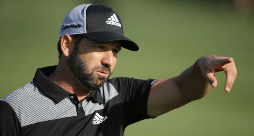 Watch Sergio Hit Maybe the Worst Drive Ever