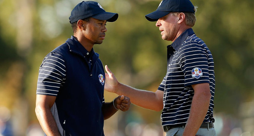 "Steve Stricker: Tiger's Not ""Physically"" Well"