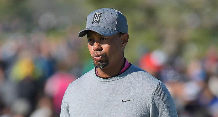 """Tiger Still Has a """"Chance"""" to Play The Masters"""