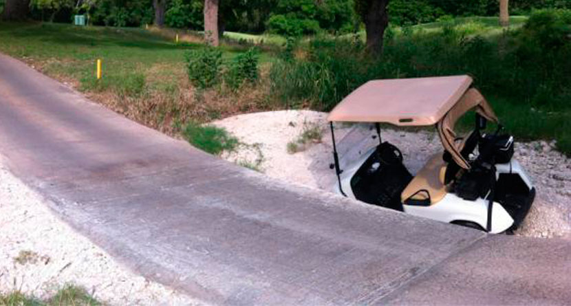 Fail Friday: Hilarious Golf Cart Fail Compilation