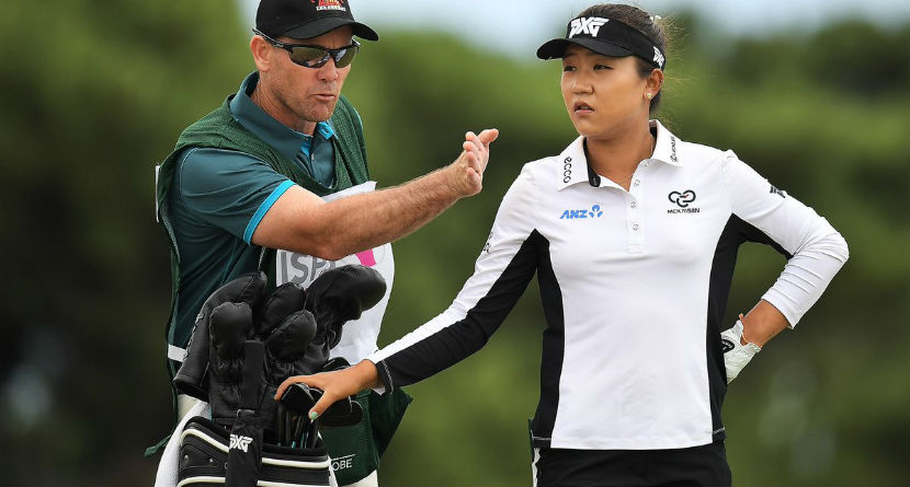 """Ko Gets """"Wake Up"""" Call From Former Caddie"""