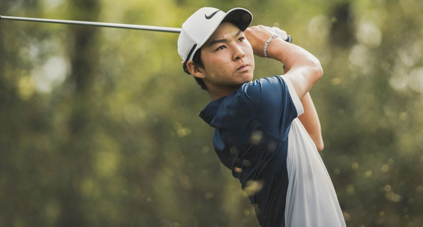 Junior Outdrives Jason Day at Sage Valley