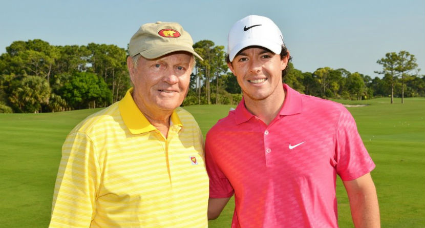 Rory Adjusts Jack's Driver For Masters Tee Shot