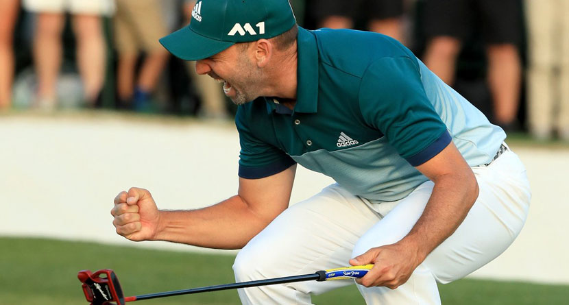 Tools: Sergio's Winning Clubs at the Masters