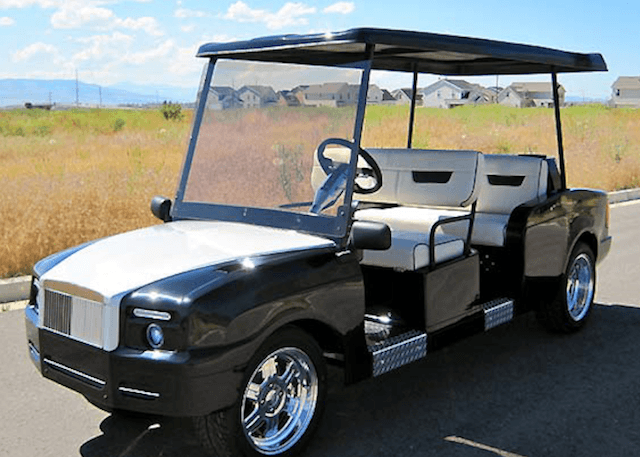 Rolls Royce Golf Cart >> 10 Expensive Luxury Golf Carts : SwingU Clubhouse